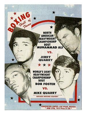 Muhammad Ali / Jerry Quarry II Program