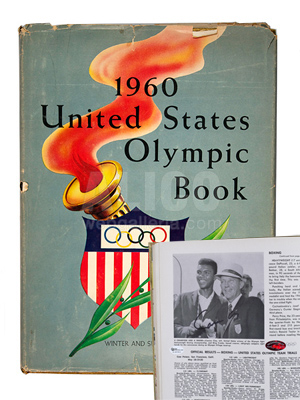 Cassius Clay 1960 Olympic Year Book