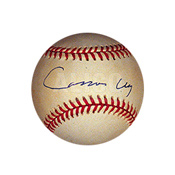 Cassius Clay Autographed Major League Baseball