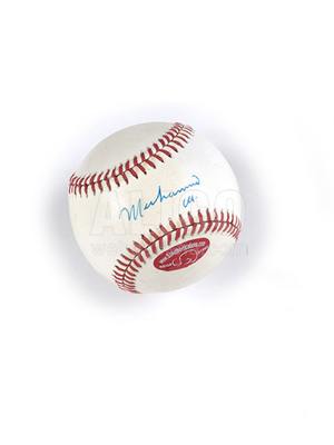 Muhammad Ali Autograph Major League Baseball