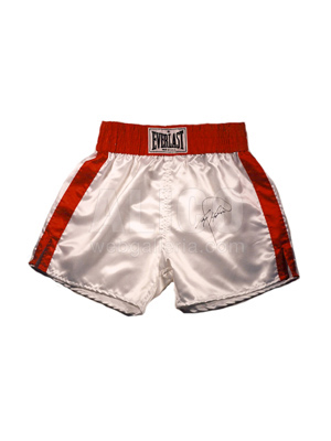 Larry Holmes Autographed Boxing Trunks