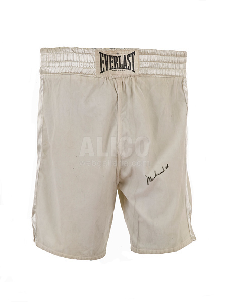 Fight-Worn Trunks from Muhammad Ali / Jimmy Ellis - July 26, 1971