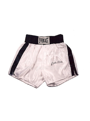 Archie Moore Autographed Boxing Trunks