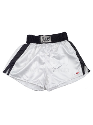 Muhammad Ali Everlast Boxing Trunks Autographed by Muhammad Ali