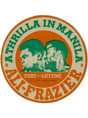 Muhammad Ali / Joe Frazier III Decal