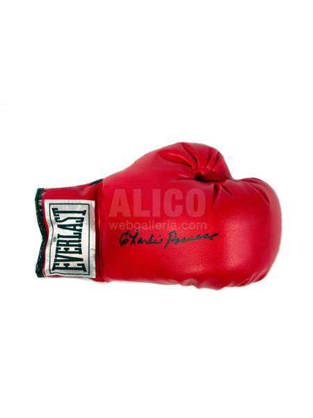 Charlie Powell Autographed Glove