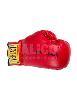 Leon Spinks Autographed Boxing Glove