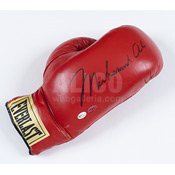 Muhammad Ali Glove with Vintage Autograph