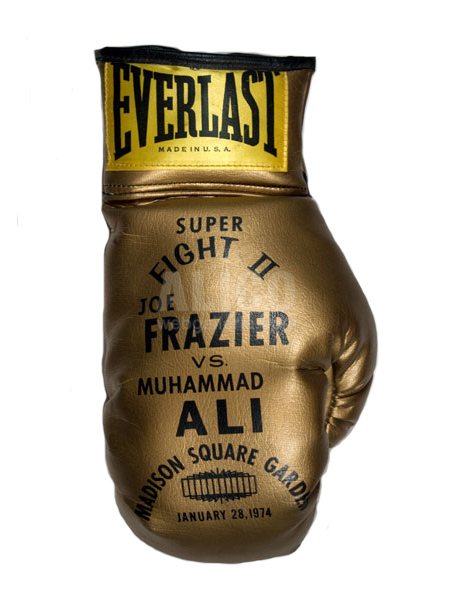 Muhammad Ali / Joe Frazier II Everlast Gold Gloves