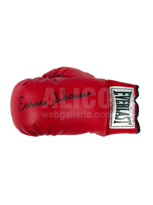 Earnie Shavers Autographed Boxing Glove