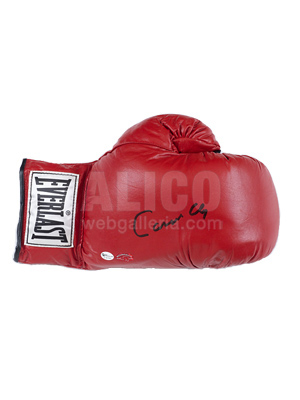 Cassius Clay Autographed Glove