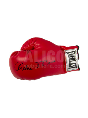 Archie Moore Autographed Boxing Glove