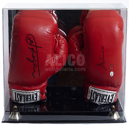 Muhammad Ali / Joe Frazier Autographed Gloves