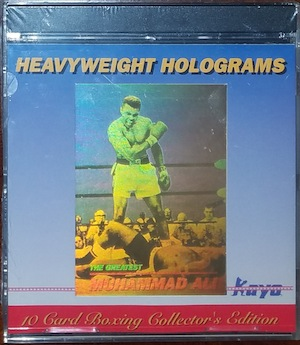 "Kayo 1992 ""Heavyweight Holograms""  Boxing Cards Collector's Edition / MAKE OFFER"