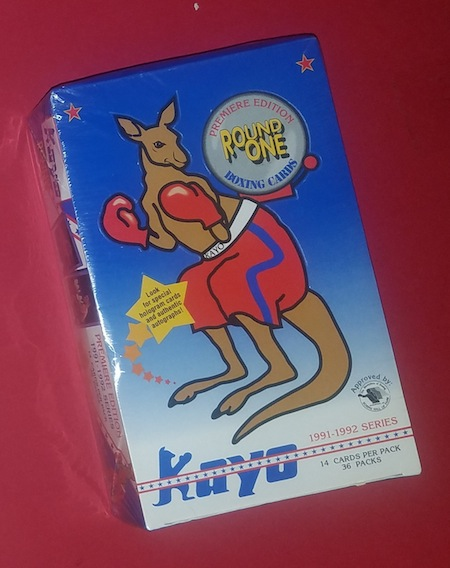 Kayo 1991-1992 Vintage Premiere Edition Boxing Cards GREAT HOLIDAY GIFT / MAKE OFFER!