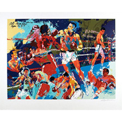 """Homage to Ali"" Serigraph by leRoy Neiman"