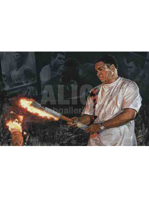 "Muhammad Ali - ""The Torch"" by Stephen Holland"