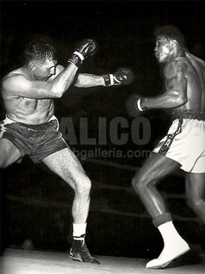 Cassius Clay / Tunney Hunsaker Black/White Press Photo