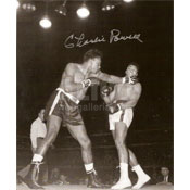Cassius Clay / Charlie Powell Autographed 8 x 10