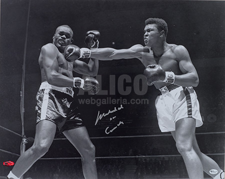 Cassius Clay / Doug Jones Autographed Photo
