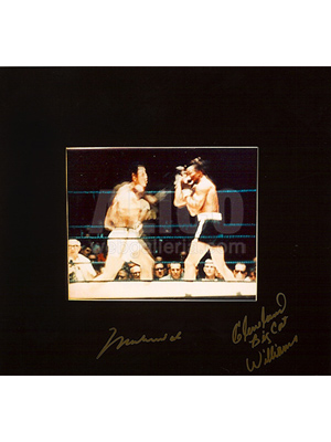 "Muhammad Ali / Cleveland Williams ""Muhammad Ali in Action"""