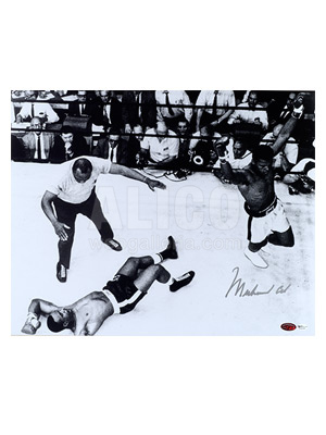 "Muhammad Ali / Sonny Liston Aerial View 16"" x 20"" Photograph"