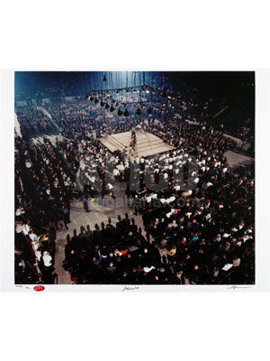 Muhammad Ali / Sonny Liston II Limited Edition Photo Autographed by Ali and Liefer 20 x 24""