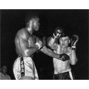 Cassius Clay / Donnie Fleeman Black/White Press Photo