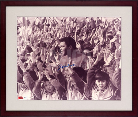 Muhammad Ali in China Autographed 16
