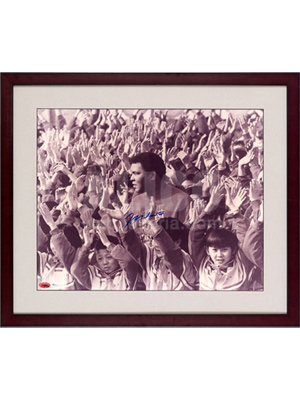 "Muhammad Ali in China Autographed 16"" x 20"" Photo"
