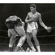 Cassius Clay / Sonny Banks Wire Photo