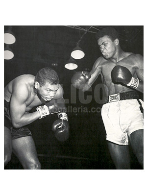Cassius Clay / Don Warner Wire Photo