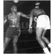 Cassius Clay / Herb Siler Black/White Press Photo