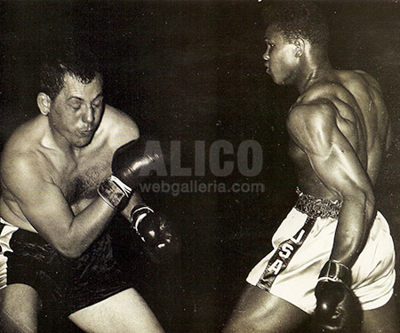Cassius Clay / Tony Esperti Black/White Press Photo