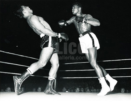 Cassius Clay / Alex Miteff Black/White Press Photo
