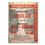 Muhammad Ali / Oscar Bonavena Press Kit