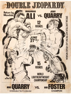 Muhammad Ali / Jerry Quarry II Press Kit