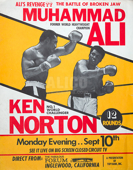Muhammad Ali / Ken Norton II Press Kit