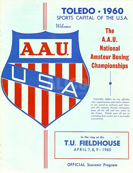 1960 A.A.U. Boxing Program
