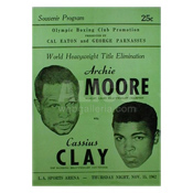 Cassius Clay / Archie Moore Program