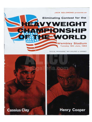 Cassius Clay / Henry Cooper I Program