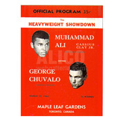 Muhammad Ali / George Chuvalo I Program