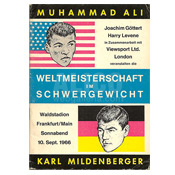 Muhammad Ali / Karl Mildenberger Program