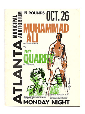 Muhammad Ali / Jerry Quarry Program