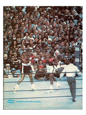 Muhammad Ali / Earnie Shavers Program