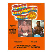 Muhammad Ali / Leon Spinks I Program