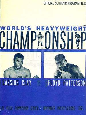 Muhammad Ali / Floyd Patterson I On-Site Program