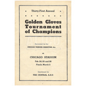1959 Cassius Clay National Golden Gloves Program
