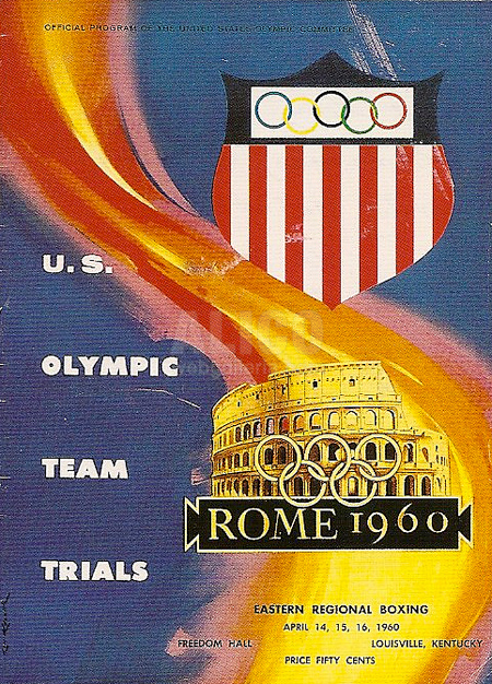 Original Cassius Clay 1960 Olympic Trails Program