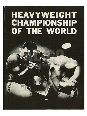 Muhammad Ali / Sonny Liston II Program